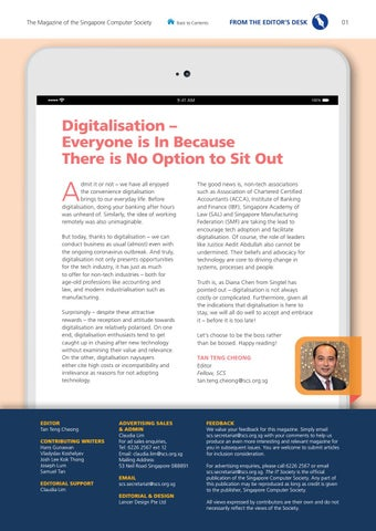 Page 3 of None Can Sit Out of Digitalisation