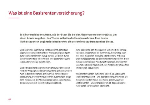 Page 6 of Was ist eine Basisrentenversicherung?