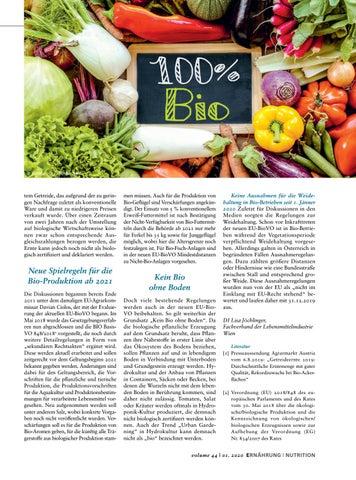 Page 15 of Zwischen Bio Boom und Verschärfung von Spielregeln