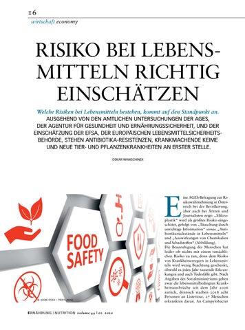 Page 16 of Risiko bei Lebensmitteln richtig einschätzen