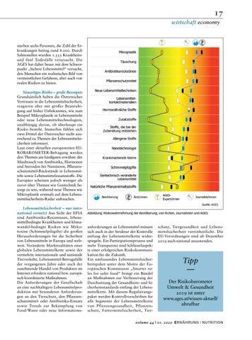 Page 17 of Risiko bei Lebensmitteln richtig einschätzen