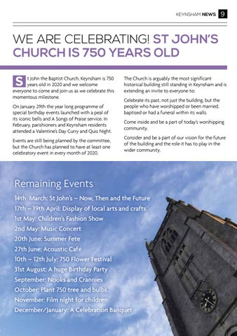 Page 9 of ST JOHN'S CHURCH IS 750 YEARS OLD