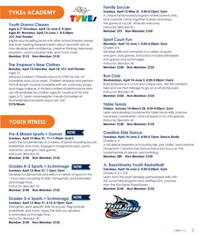 Page 5 of Youth Fitness