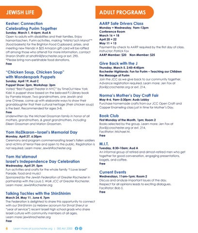Page 6 of Adult Programs