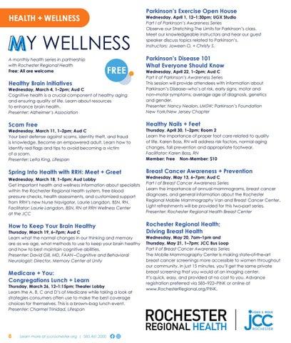 Page 8 of Health + Wellness