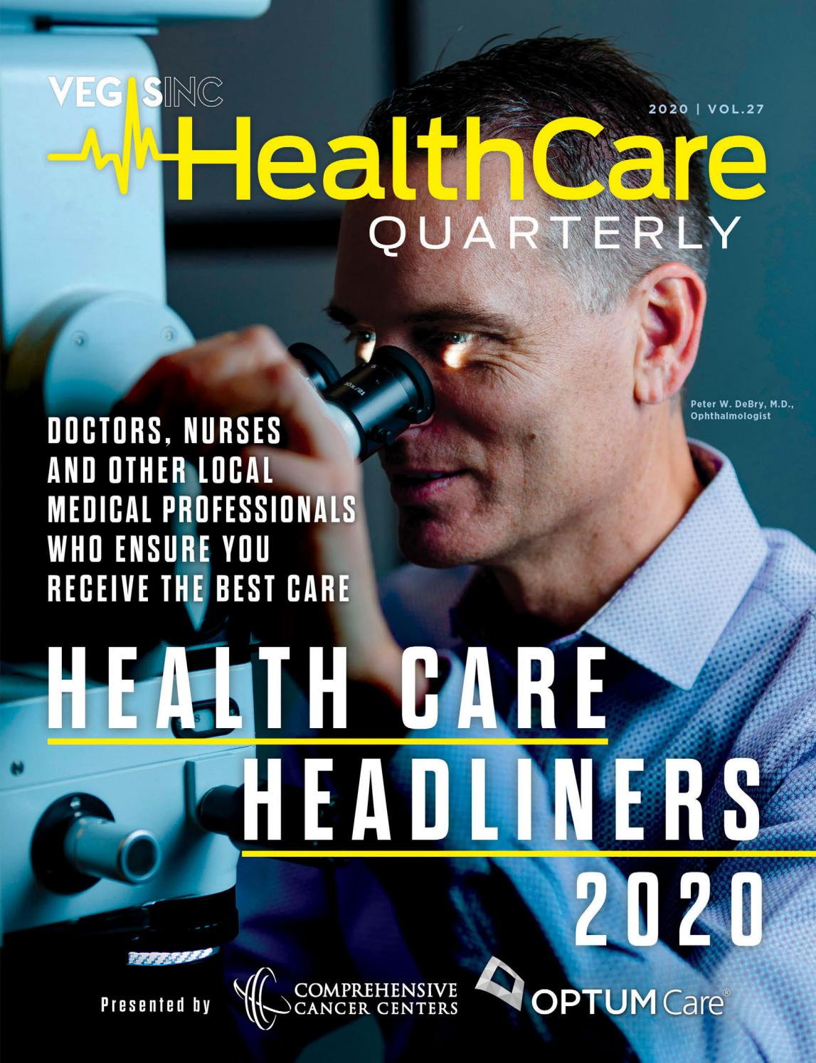 2020 02 27 Health Care Quarterly Vol 27 Winter 2020 By Greenspun Media Group Issuu