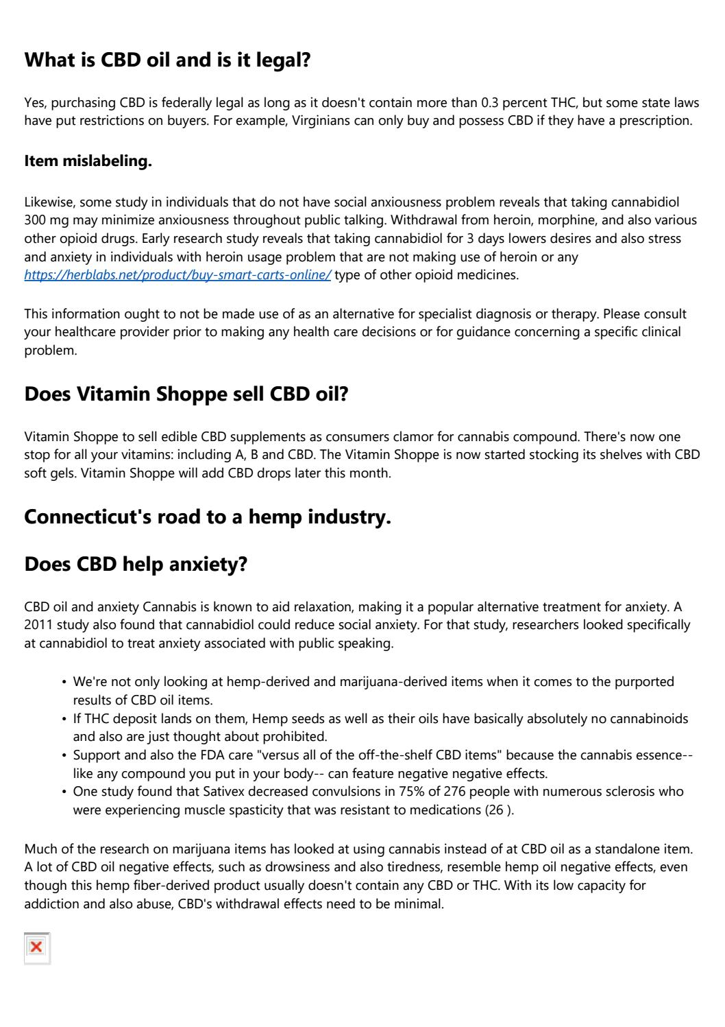 page 1 - Not known Incorrect Statements About The Use Of Cbd Oil To Treat Anxiety - Verywell Mind