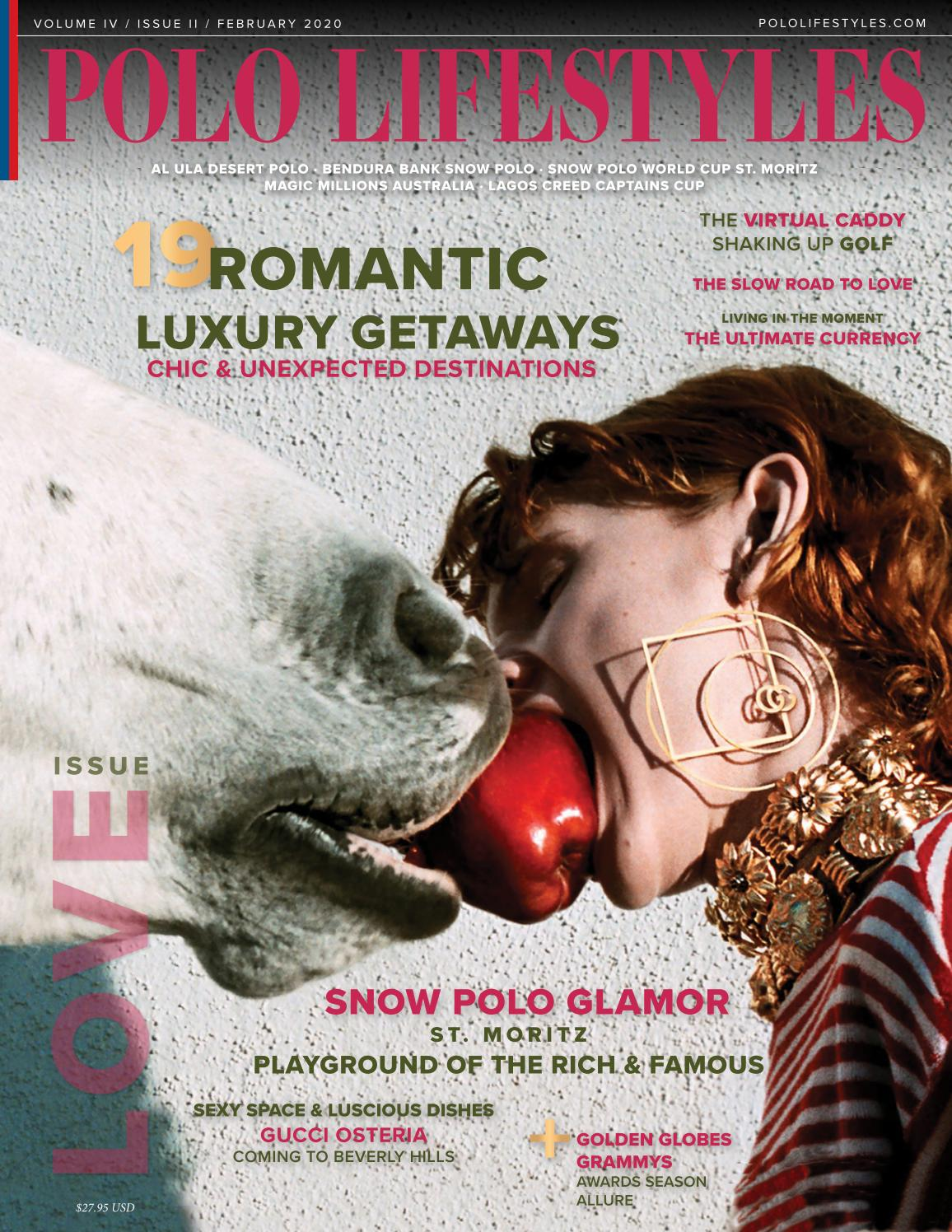 Deco Tonneau De Vin polo lifestyles february 2020 - snow polo & weekend romance