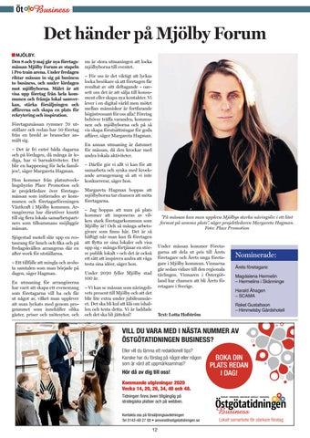 Page 12 of Det händer på Mjölby Forum