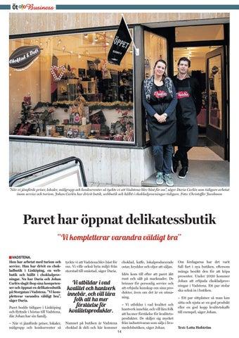 Page 14 of Ny butik för chokladkärlek
