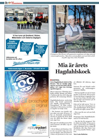 Page 6 of Mia är årets Hagdahlskock