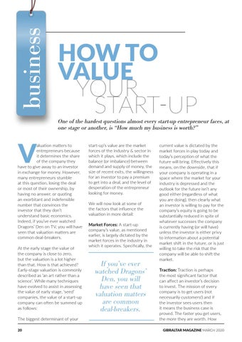 Page 20 of How To Value Your Start-Up