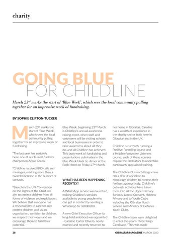 Page 28 of Going Blue for Childline