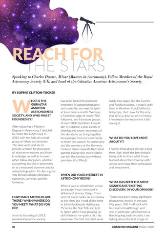 Page 30 of Reach for the Stars: Gibraltar Amateur Astronomers Society