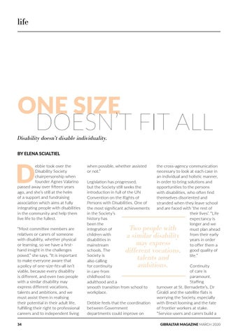 Page 34 of One Size Doesn't Fit All: Disability Society