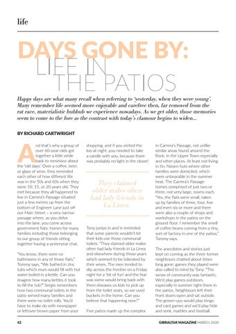 Page 42 of Days Gone By: Life in the Patios