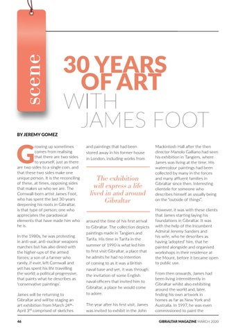 Page 46 of 30 Years of Art with James Foot
