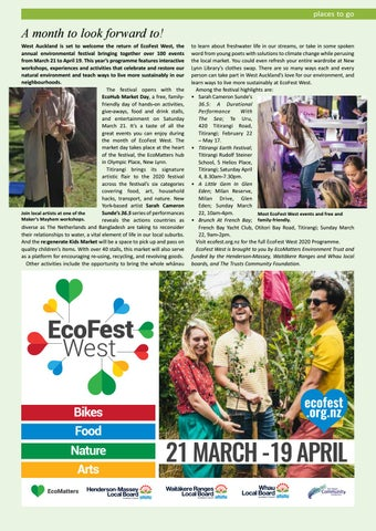 Page 19 of EcoFest West: A month to look forward to