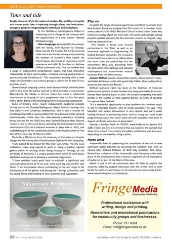 Page 22 of Art and about with Naomi McCleary
