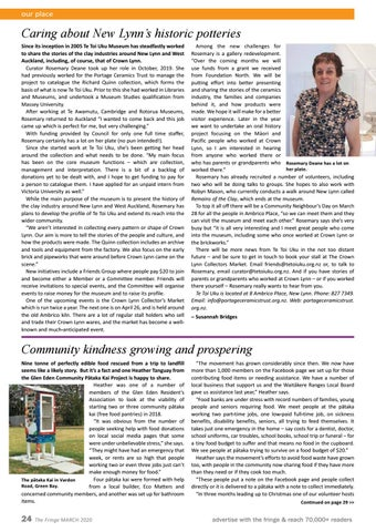 Page 24 of Caring about New Lynn's historic potteries; Community kindness growing and prospering