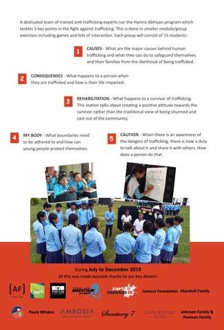 Page 21 of Hamro Abhiyan Anti-Trafficking Educational Program