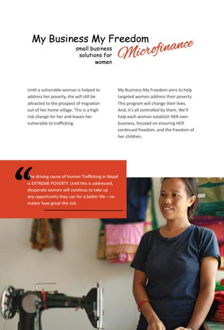 Page 24 of My Business My Freedom Microfinance