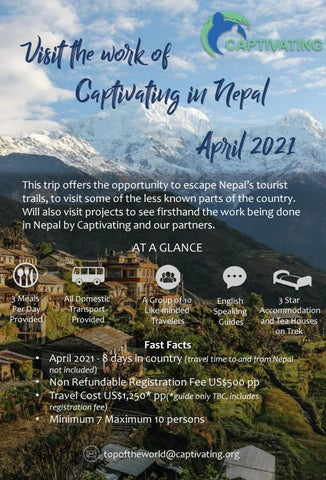 Page 30 of Visit the work of Captivating Nepal in 2021