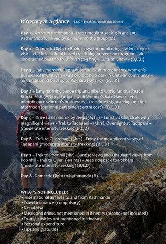 Page 31 of Visit the work of Captivating Nepal in 2021