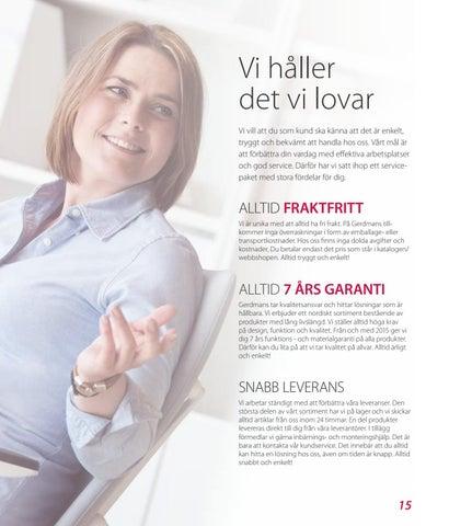 Page 15 of Fraktfritt, 7 års garanti och snabb leverans