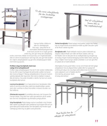 Page 11 of Guide til det rigtige arbejdsbord