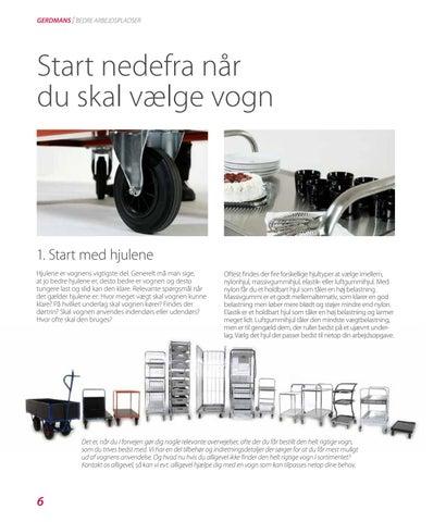 Page 6 of Begynd nedefra når du skal vælge vogn