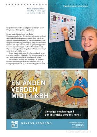 Page 41 of Få bedre trivsel, ro og overskud ved en ny organisering af skoledagen