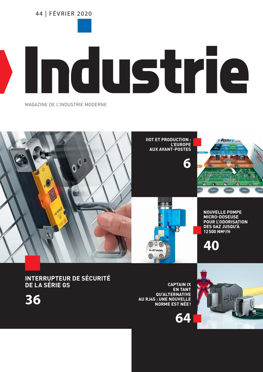 Boitier Electromagnetique Anti Humidite industrie | 44 - février 2020induportals media