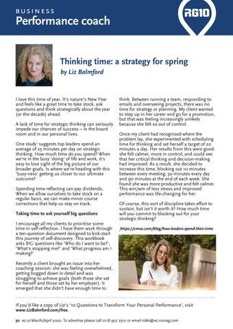 Page 30 of Liz Balmford Coaching: Thinking time