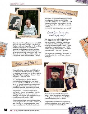 Page 58 of Oldest Living Alumni