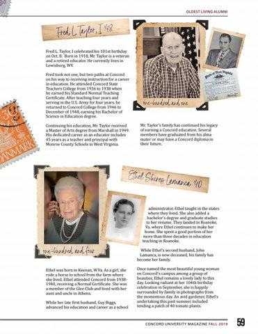 Page 59 of Oldest Living Alumni