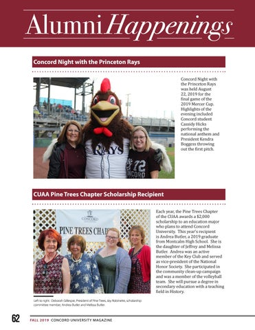 Page 62 of Alumni Happenings