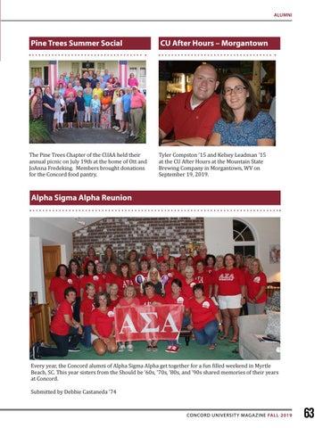 Page 63 of Alumni Happenings
