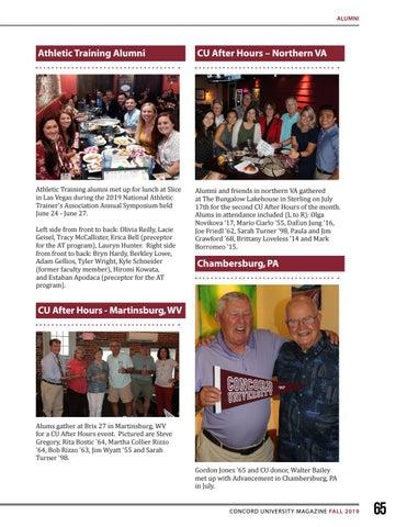 Page 65 of Alumni Spotlight