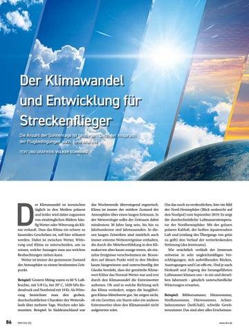 Page 86 of Klimawandel und Entwicklung für das Streckenfliegen