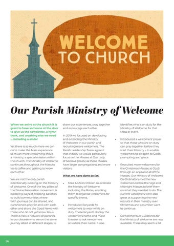 Page 14 of 15 - Our Parish Ministry