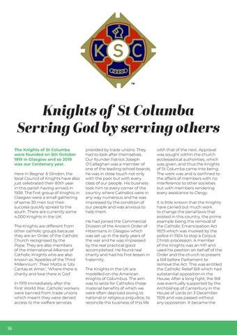 Page 16 of 17 - Knights of St Columba