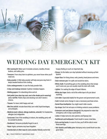 Page 30 of EMERGENCY KIT