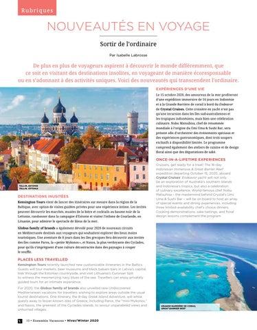 Page 10 of NOUVEAUTÉS EN VOYAGE