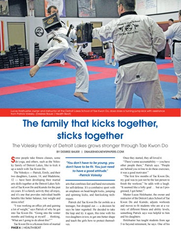 Page 6 of TAE KWON DO