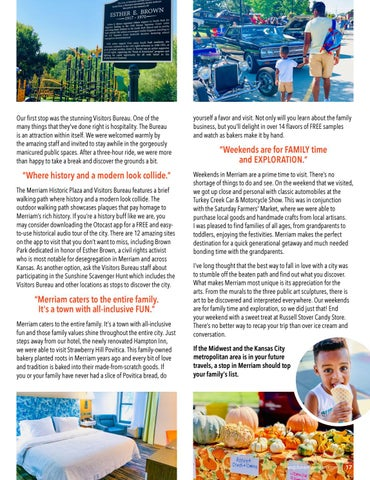 Page 17 of Guest Feature: Family Weekend in Merriam