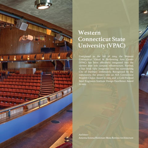 Page 29 of Western Connecticut State University VPAC   Danbury, CT