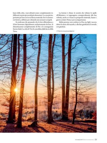 Page 21 of Insegnamento LA LEZIONE DELL'EBANO
