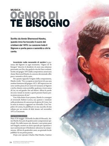 Page 24 of Musica OGNOR DI TE BISOGNO