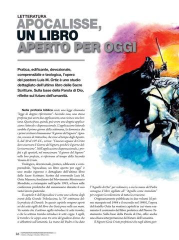 Page 26 of Letteratura APOCALISSE, UN LIBRO